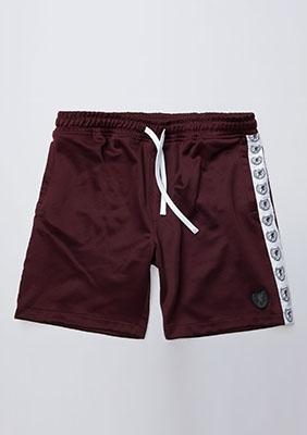 Shorts Retro Maroon