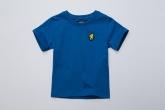 Kinder T-shirt Basic Blue