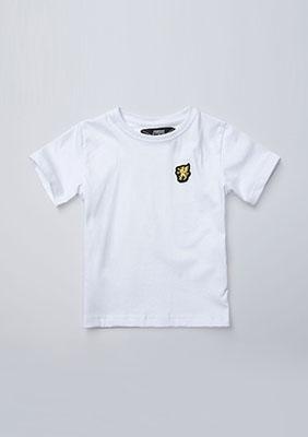 Kinder T-shirt Basic White