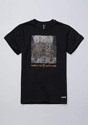 T-shirt Passion Black