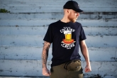 T-shirt Cocaine&Caviar Navy