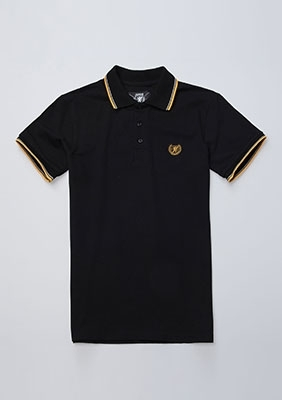 Poloshirt Laurel Black