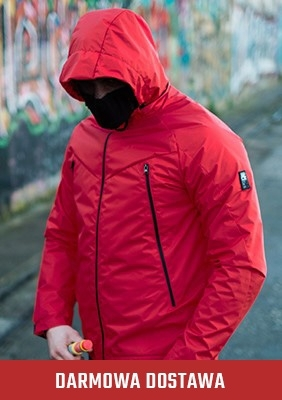 Mask Jacke Fighter Red-Black