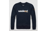 "Sweatshirt ""Weekend"" Navy"