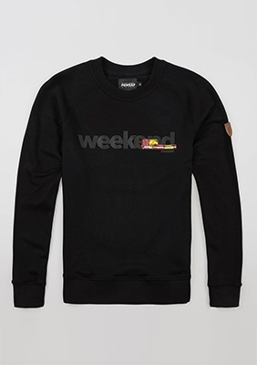 "Bluza ""Weekend"" Balck"