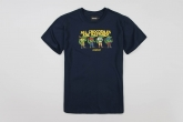 "T-shirt ""Crocodiles"" Navy"