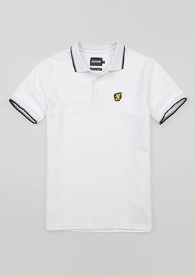 "Poloshirt ""Classic"" White"