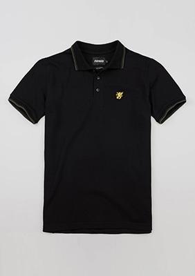 "Poloshirt ""Classic"" Black"