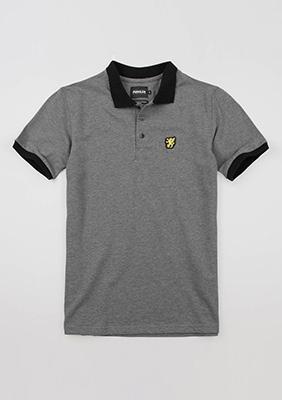"Poloshirt ""Classic"" Grey"