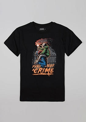 """T-shirt """"Pyro is safe"""""""