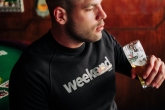"Sweatshirt ""Weekend"" Black"