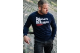 "Sweatshirt ""Hate Mondays"" Navy"