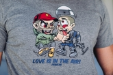 "T-shirt ""Love"" Grey"