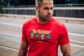 "T-shirt ""Crocodiles"" Red"