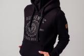 "AW19 Damska Bluza ""Authenthic Brand"" Black S"