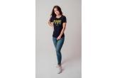 """AW19 Damski T-shirt """"Crocodiles"""" Green XS"""