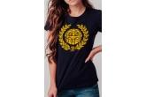 "AW19 Damski T-shirt ""AMF"" Navy XS"