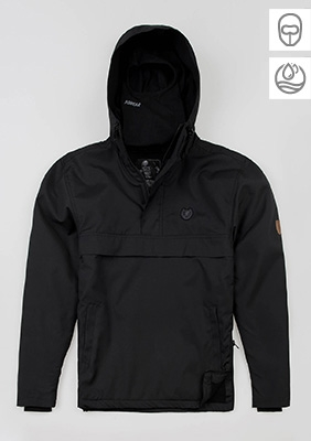 "Full Face Jacke ""Attack"" Black"