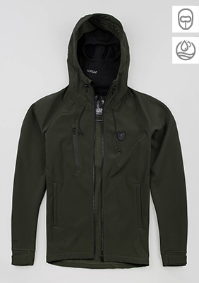 "Softshell ""Aggressive"" Olive"