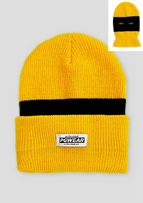 AW18 Czapka Troublemaker Yellow/Black/Yellow