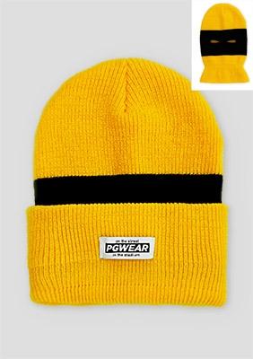 AW18 Czapka Troublemaker Yellow/Black/Yellow