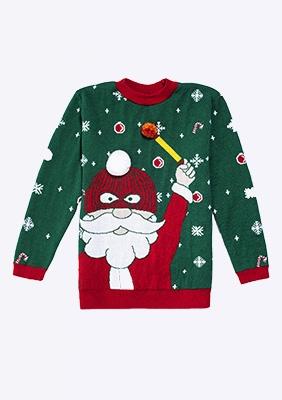 CH19 Sweter Świąteczny S
