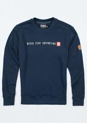 """Sweatshirt """"Never Stop"""""""