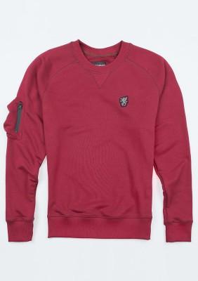 """Sweatshirt """"CSL`20"""" Maroon"""