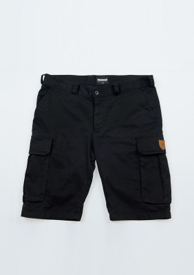 "Cargo Shorts ""Defend"" Black"