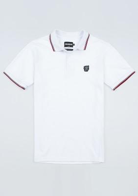 "Poloshirt ""Classic`20"" White"
