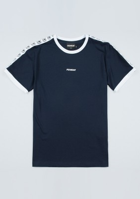 "T-shirt ""Ribbon"" Navy"
