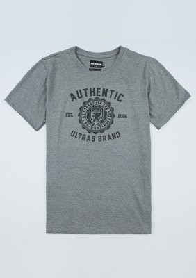 "T-shirt ""Authentic Brand"" Grey"