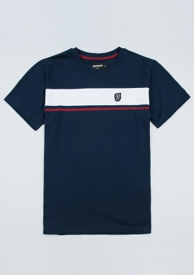 "T-shirt ""Oldschool II"" Navy"