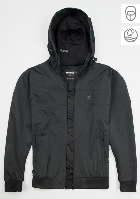 "Full Face Jacke ""Invader"" Black"