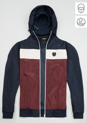 "Full Face Jacke ""Invader"" Navy/Red"