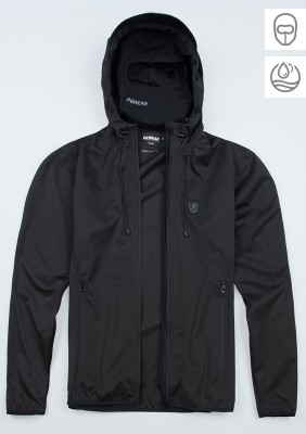 "Full Face Softshelljacke ""Hassle"" Black"