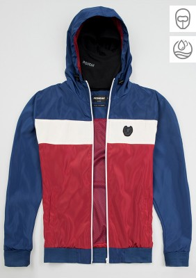 "Full Face Jacke ""Invader"" Blue/Red"