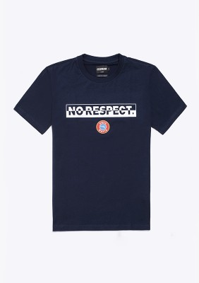 NR20LE T-shirt NO RESPECT Navy S