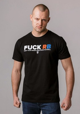 "FR20LE T-shirt ""F*CK RB"" Black S"