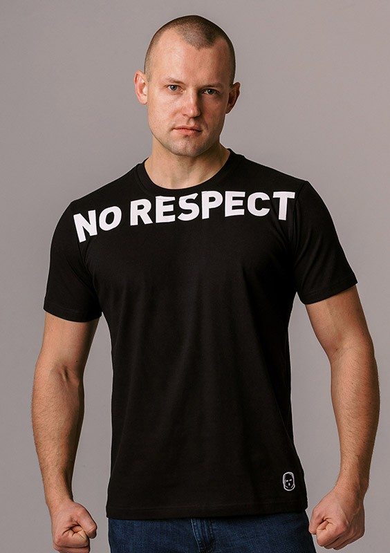 "LE20NR T-shirt ""NO RESPECT Big"" S"
