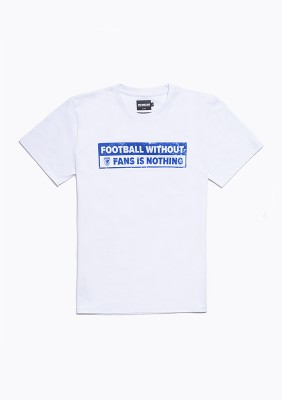 "SS20LE T-shirt ""No Fans - No Football"" W/B S"