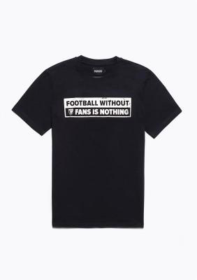 """SS20LE T-shirt """"No Fans - No Football"""" BlackW S"""