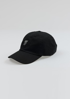 "Baseball Cap ""Base"" Black"