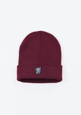 "Winter Hat ""North Pole"" Burgundy"