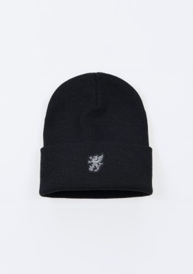 "Winter Hat ""North Pole"" Black"