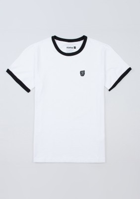 """T-shirt """"PG Ringer"""" White"""