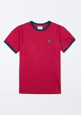 """T-shirt """"PG Ringer"""" Burgundy"""