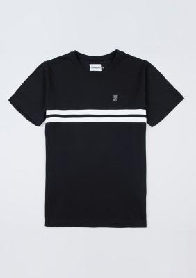 """T-shirt """"Basic Stripes"""" Black"""