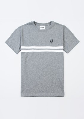"T-shirt ""Basic Stripes"" Grey"