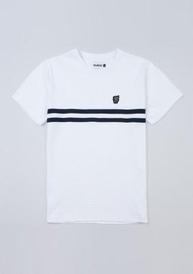 "T-shirt ""Basic Stripes"" White"
